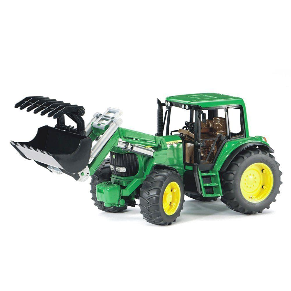 Bruder 2052 Zelený traktor John Deere 6920 s přední lžící