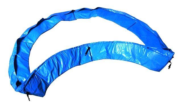 Ochranný kryt pružin na trampolínu 244 cm, Modrý