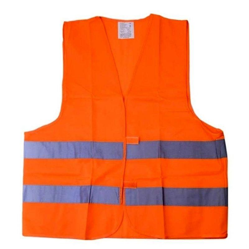 Bezpečnostní reflexní vesta, Oranžová XL