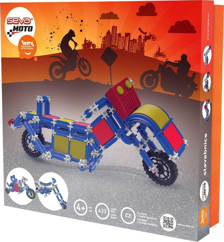 Stavebnice Seva Moto, 423 dílků