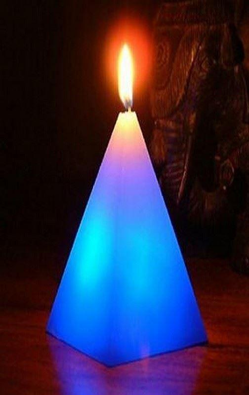 Kouzelná svíčka, Čtyřstěnná pyramida