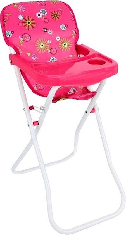 Teddies Židlička pro panenky růžová, vysoká 60 cm