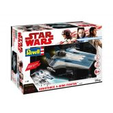 Revell Star Wars 06762 Resistance A-wing Fighter (modrý)