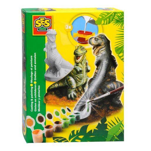 SES Sádrový odlitek T-Rex