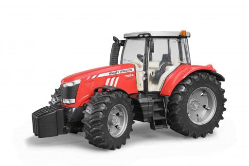 Bruder 3046 Traktor Massey Ferguson 7600