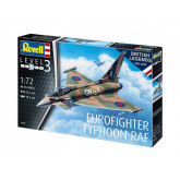Revell ModelKit letadlo, 100 Years RAF Eurofighter Typhoon (1:72)