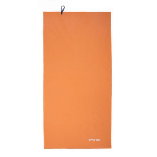 Spokey SIROCCO L rychleschnoucí ručník 60 x 120 cm, oranžový