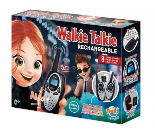 BUKI Vysílačky Walkie Talkie 4km - dobíjecí baterie