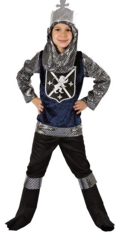 Dětský kostým na karneval Rytíř Artuš, 120-130 cm
