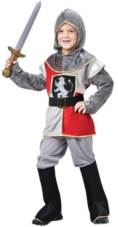 Dětský kostým na karneval Rytíř Maxmilián, 110-120 cm