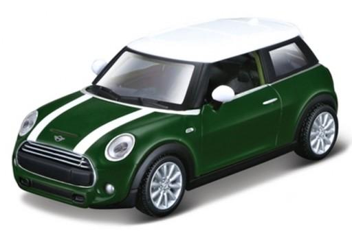 Maisto Mini Cooper S, Zelený 1:40