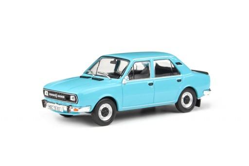 Abrex Škoda 120L (1982) Modrá Světlá 1:43