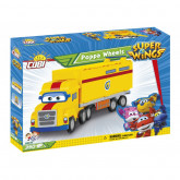 Cobi 25137 Super Wings Poppa Wheels, 350 kostek