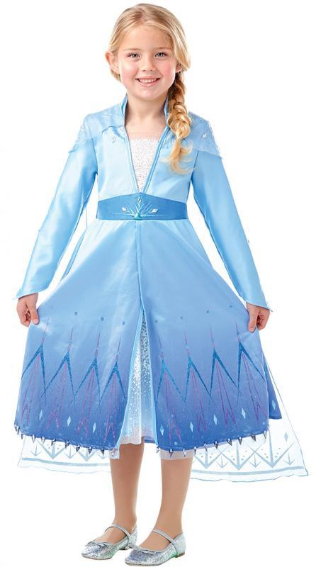 Dětský kostým Frozen 2, Elsa Premium vel. M