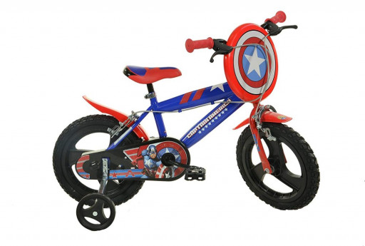 "Dino Bikes Dětské kolo Kaptain America 14"""