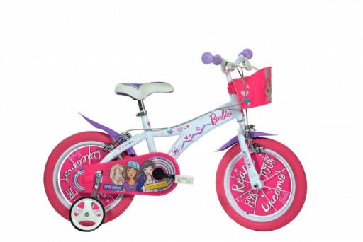 """Dino Bikes Dětské kolo Barbie 14"""""""