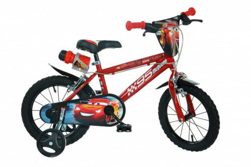 """Dino Bikes Dětské kolo Cars 14"""""""