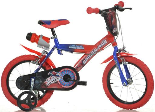 "Dino Bikes Dětské kolo Spiderman 14"""