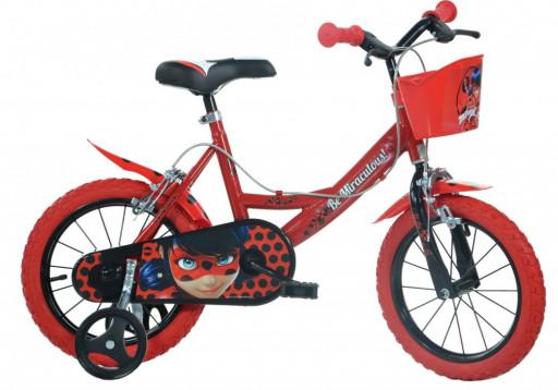 """Dino Bikes Dětské kolo Miraculous 14"""""""