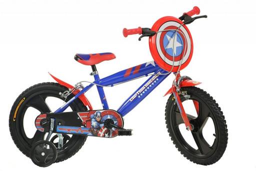 "Dino Bikes Dětské kolo Kapitán Amerika 16"""