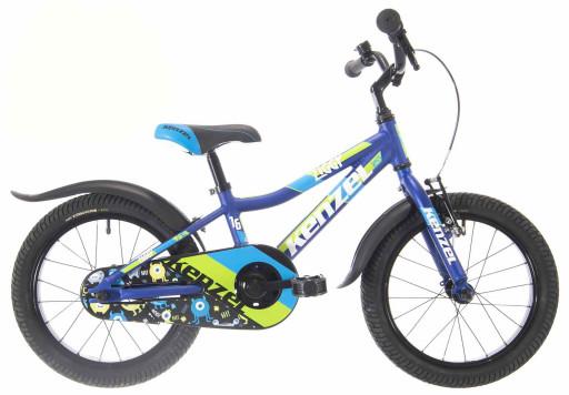 Kenzel Dětské jízdní kolo Ziggy RF16 1spd 2021 modré