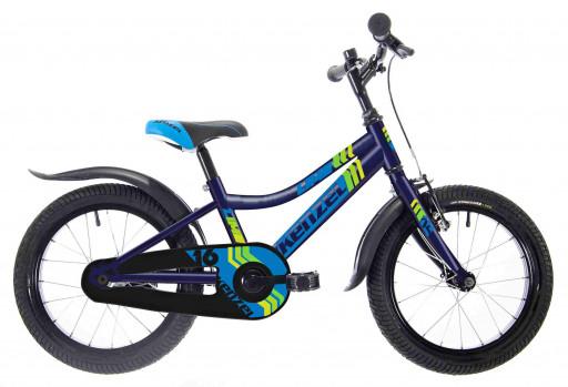 Kenzel Dětské jízdní kolo Lime RF16 1spd 2021 modré