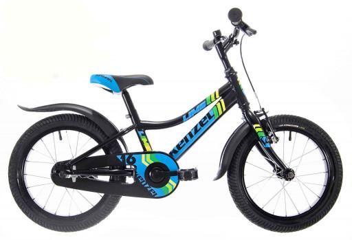 Kenzel Dětské jízdní kolo Lime RF16 1spd 2021 černé