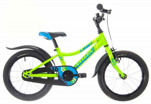 Kenzel Dětské jízdní kolo Lime RF16 1spd 2021 nenově zelený