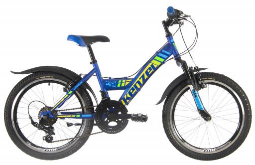 Kenzel Dětské jízdní kolo Wind SF200 2021 modré
