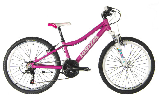 Kenzel Dětské jízdní kolo Vulcano 100 SF24 2021 růžové