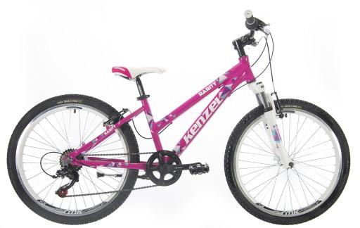 Kenzel Dětské jízdní kolo Rarity SF24 2021 růžové