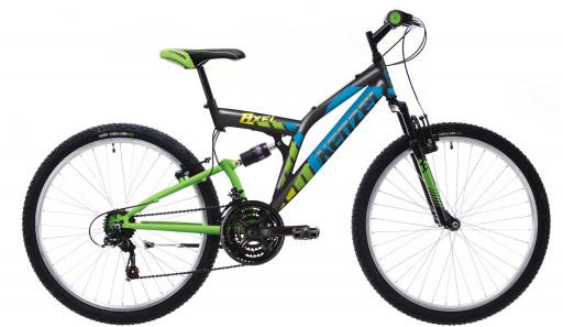 Kenzel Dětské jízdní kolo Axel SF24 2021 černé