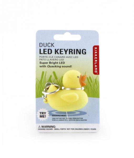 LED klíčenka kačenka