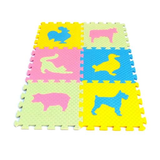 Pěnový koberec MAXI EVA Zvířata III., 4 barvy
