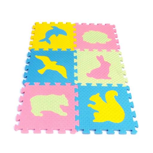 Pěnový koberec MAXI EVA Zvířata IV., 4 barvy