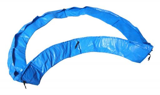 Acrasport Ochranný kryt pružin na trampolínu 244 cm, Modrý