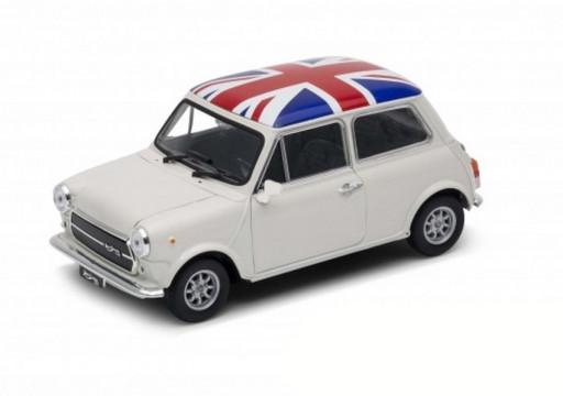 Welly Mini Cooper 1300 UK, White 1:34-39