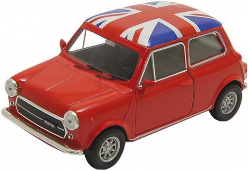 Welly Mini Cooper 1300 UK, Red 1:34-39