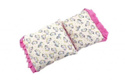 Teddies Peřinka a polštářek pro panenky, 35cm