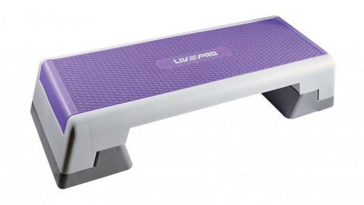Bedýnka PRO LivePro Aerobic step 98x38x15 cm