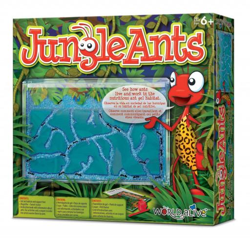 World Alive Jungle Ants - gelové mraveniště