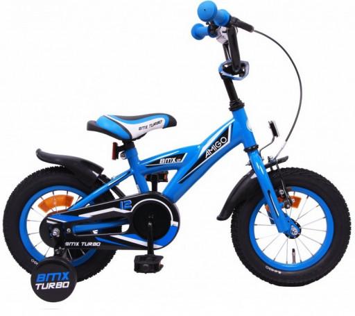 Dětské kolo AMIGO BMX Turbo modrá 12