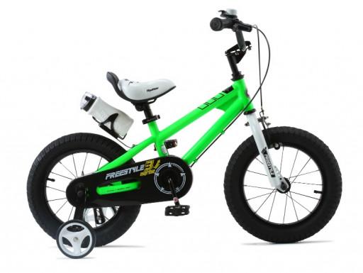 Dětské kolo RoyalBaby Freestyle zelená 12
