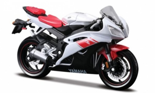 Maisto Yamaha R6 (2008), Bílá 1:18