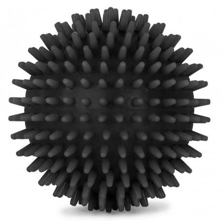 Masážní míč ježek 90 mm, Černý