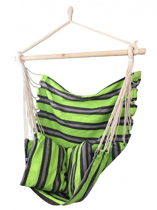 Sedco Závěsné houpací křeslo Swing, Zelené, 100 kg