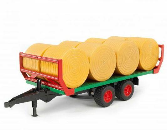 Bruder 2220 Přepravník na balíky a 8 balíků