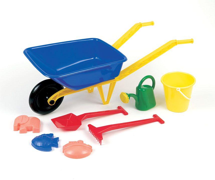 Frabar - Dětské plastové kolečko s velkým příslušenstvím