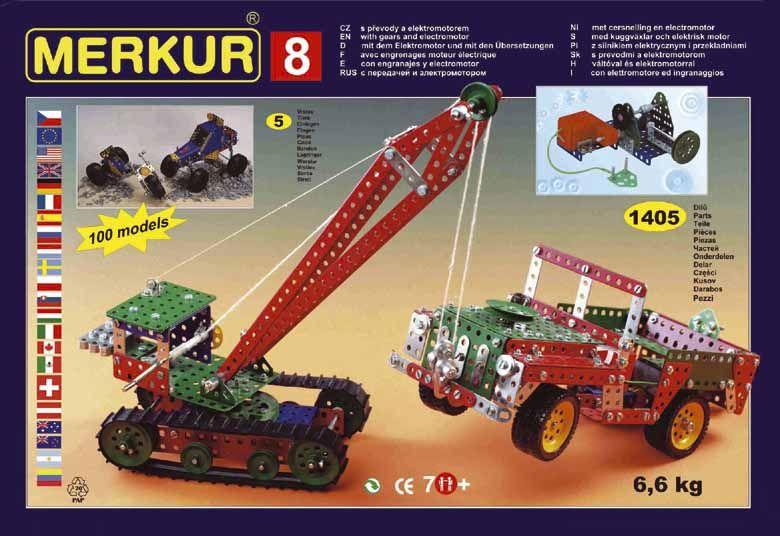 Merkur 8, 130 modelů