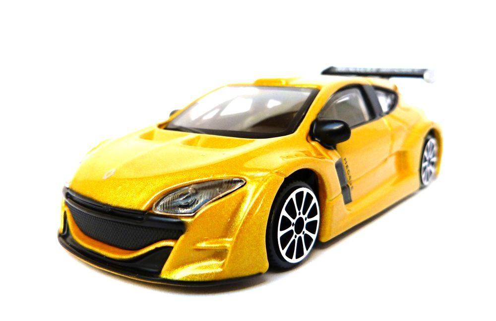 Bburago Renault Megane Trophy, Žlutý 1:43